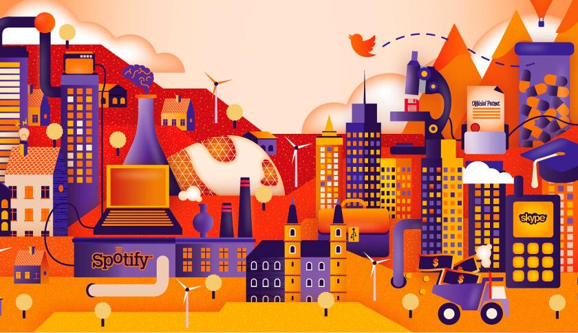 Top 10 Emerging Startup Hubs
